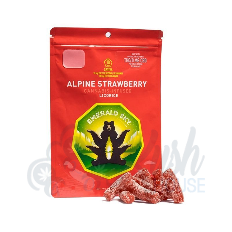 Alpine Strawberry Licorice
