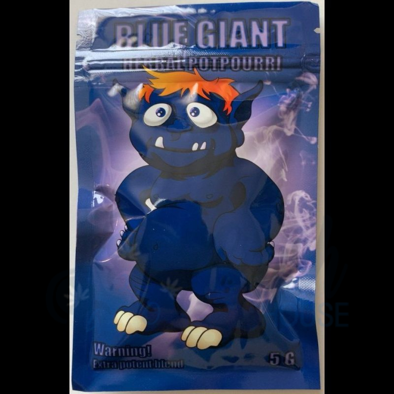 Buy Blue Giant Herbal Incense 5g
