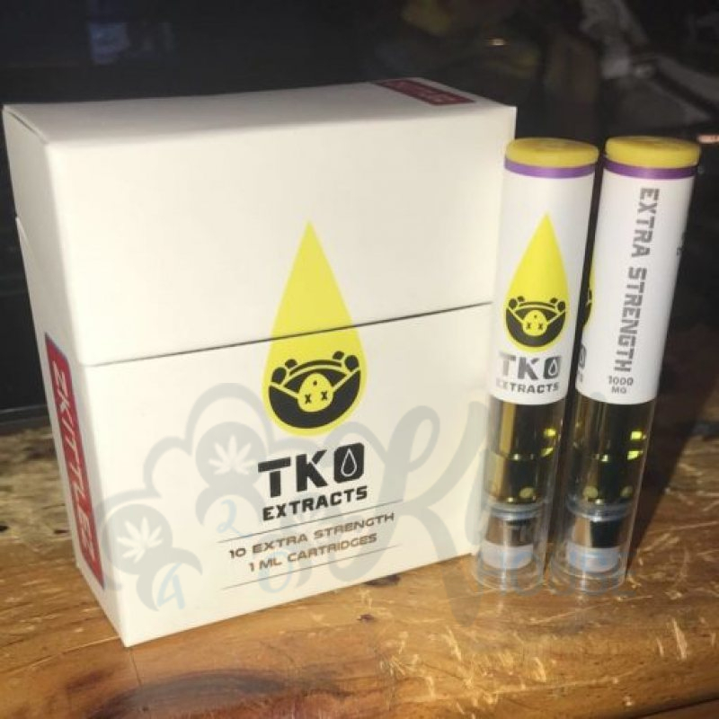 TKO Extracts Vape Cartridges 1Gram